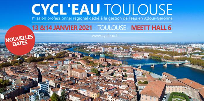 Bandeau Haut salon Cycl'Eau Toulouse Occitanie